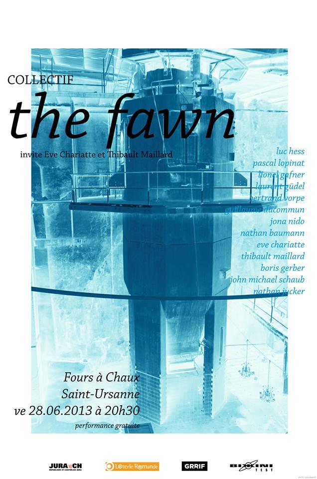 The Fawn ce soir aux Fours à Chaux